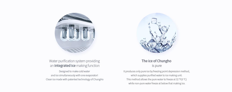 Hệ thống tạo đá hiện đại, đảm bảo an toàn, hợp vệ sinh